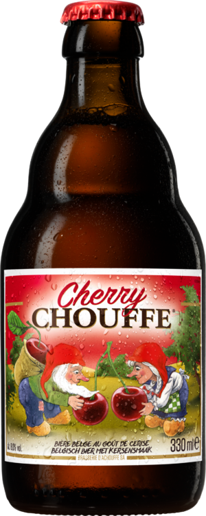 Petite bouteille pour Cherry Chouffe