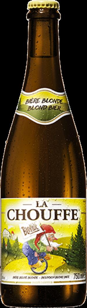 Grande bouteille pour La Chouffe