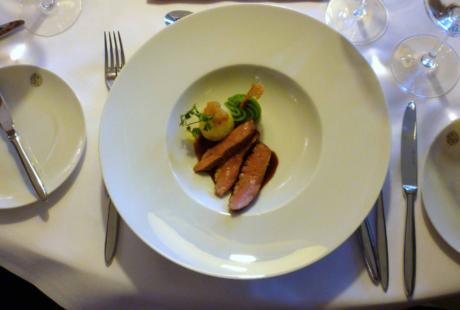 Magret de canard et sa sauce à la Cherry CHOUFFE