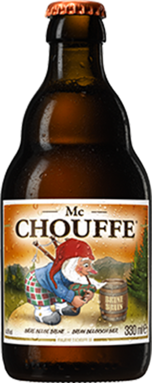 Petite bouteille pour Mc Chouffe