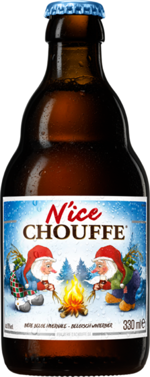 Petite bouteille pour N'ice Chouffe