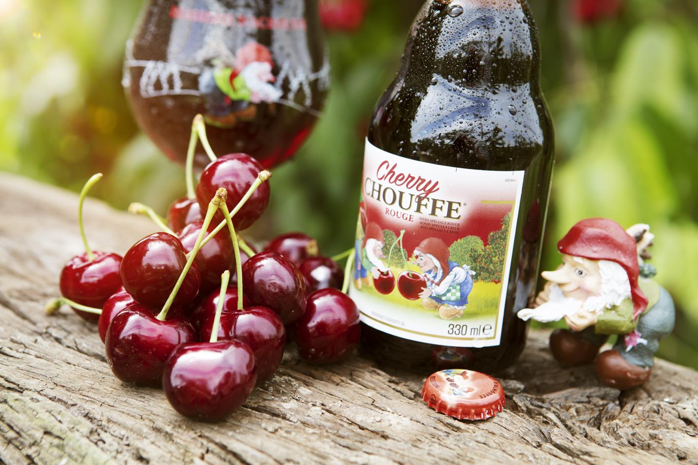 Een Cherry Chouffe loopt zoetjes binnen