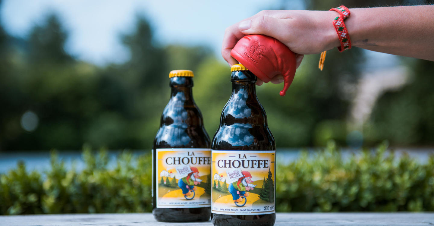 CHOUFFE, the beer of the dwarfs brewed in the Valley of the Fairies