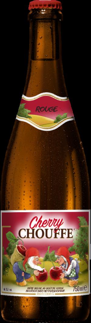 Grande bouteille pour Cherry Chouffe