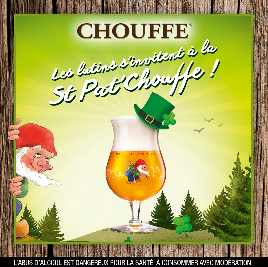 Les lutins s'invitent à la St Pat'Chouffe !