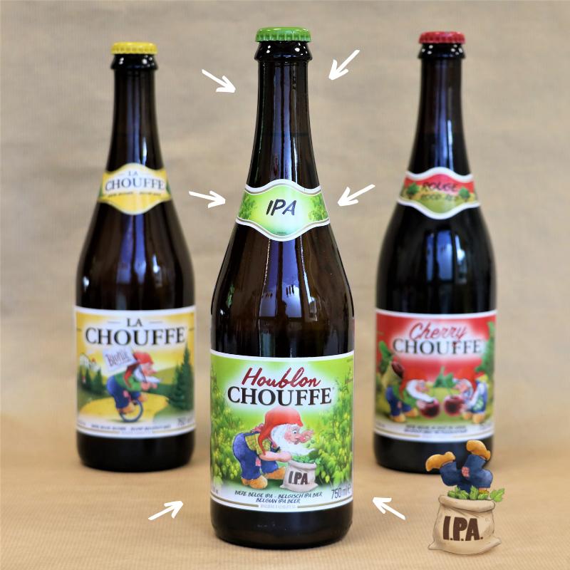 Cherry Chouffe & Houblon Chouffe 75cl !