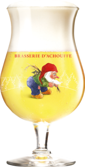 Verre pour CHOUFFE Blanche