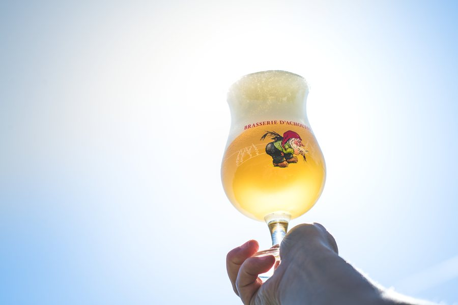 Sun in your glass!
