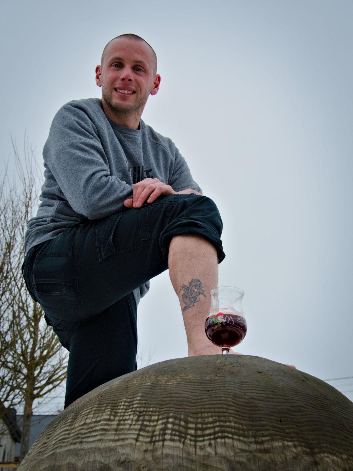 CHOUFFEFAN - Christof et sont tatouage CHOUFFE