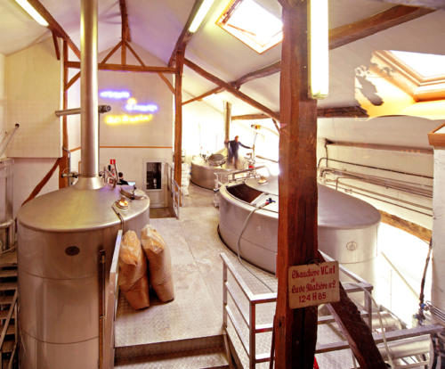 Brasserie d'Achouffe - La salle de brassage