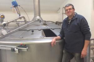 José, maître-brasseur de la Brasserie d'Achouffe